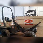 Dumper Giratorio Articulado 3500 kgs 4x4